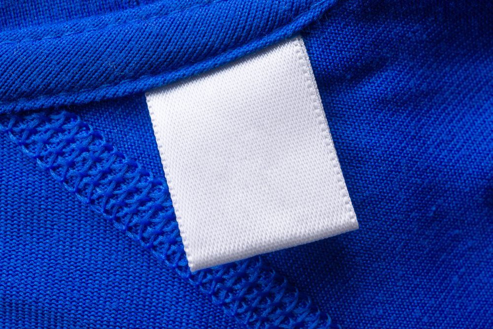 When do you think of woven labels?